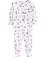 Человечек хлопковый Carters для девочки 6 месяцев 61-69 см