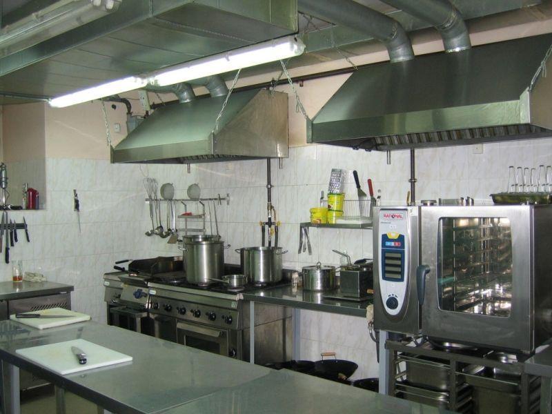 Вентиляція кухонь, гарячих цехів