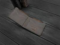 Мужской кожаный бумажник ручной работы VOILE mw10-brn