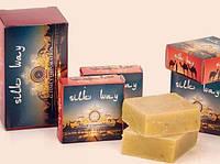 """Лечебное шунгитовое мыло """"Silk Way"""", с  натуральными маслами, 72г., Казахстан."""