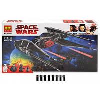 """Конструктор """"STAR WARS"""" """"Истребитель TиАй Кайло Рена"""" 648дет., 10907"""