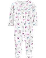 Человечек хлопковый Carters для новорожденной девочки 46-55 см