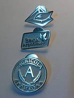 Значки из серебра на заказ