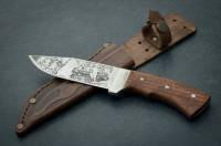 Охотничий нож Тотем Охота,охотничьи ножи,товары для рыбалки и охоты,оригинал