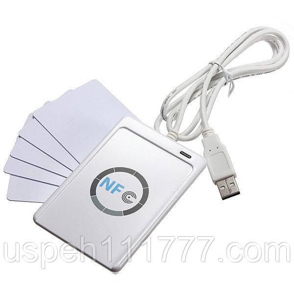 RFID Smart Card Reader NFC ACR122U USB 13,56 МГц