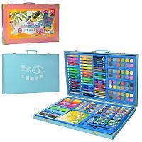 Набор для творчества, фломастеры, карандаши, акварельные краски, MK2458