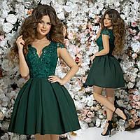 9ada277f26b Шикарное коктейльное платье 42 44 46 бежевое черное розовое зеленое ...