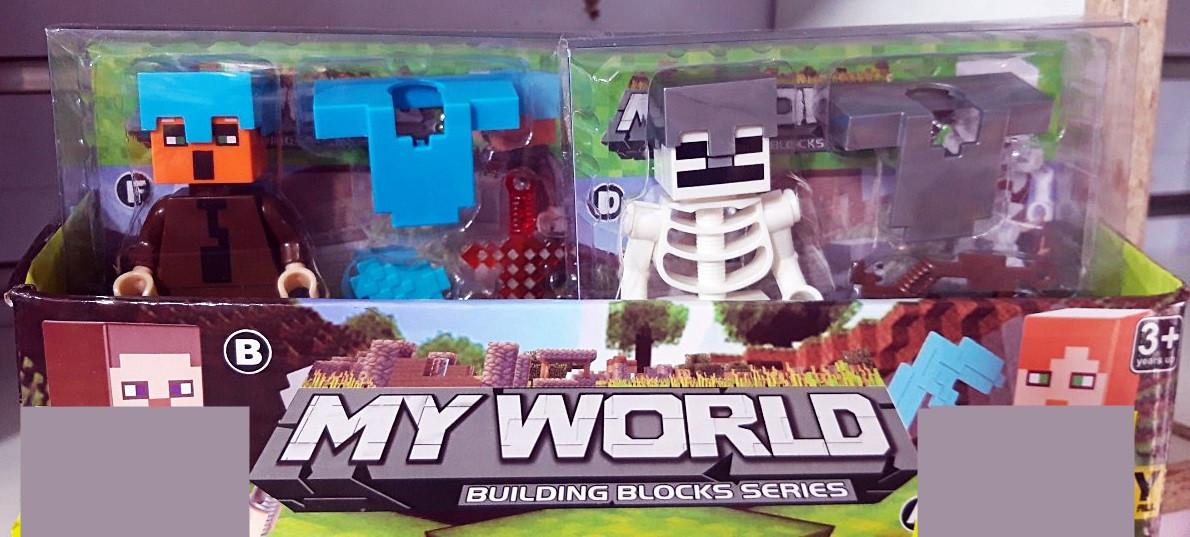 Фигуркииз игры Майнкрафт My World