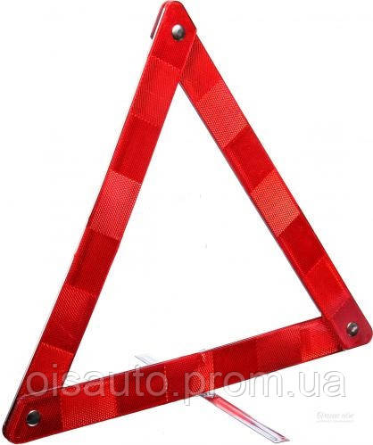 Знак аварійної зупинки 420 х 40 мм