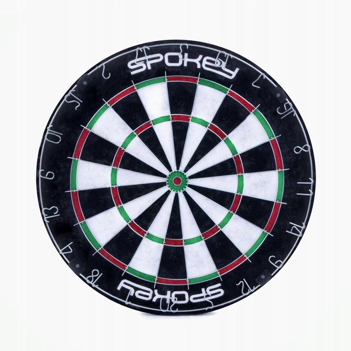 Дартс полупрофессиональный Monaco SPOKEY -  45 см + 6 стальных дротиков