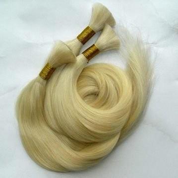 100% натуральный срез европейских волос, фото 1