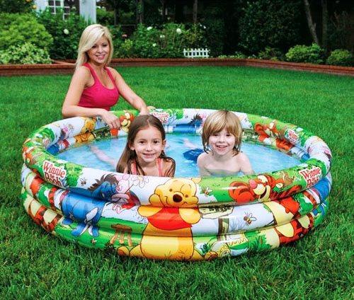 Детский надувной бассейн Intex 58915 Винни Пух, 147 х 33 см