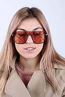 Cолнцезащитные женские очки 18358 пудровые