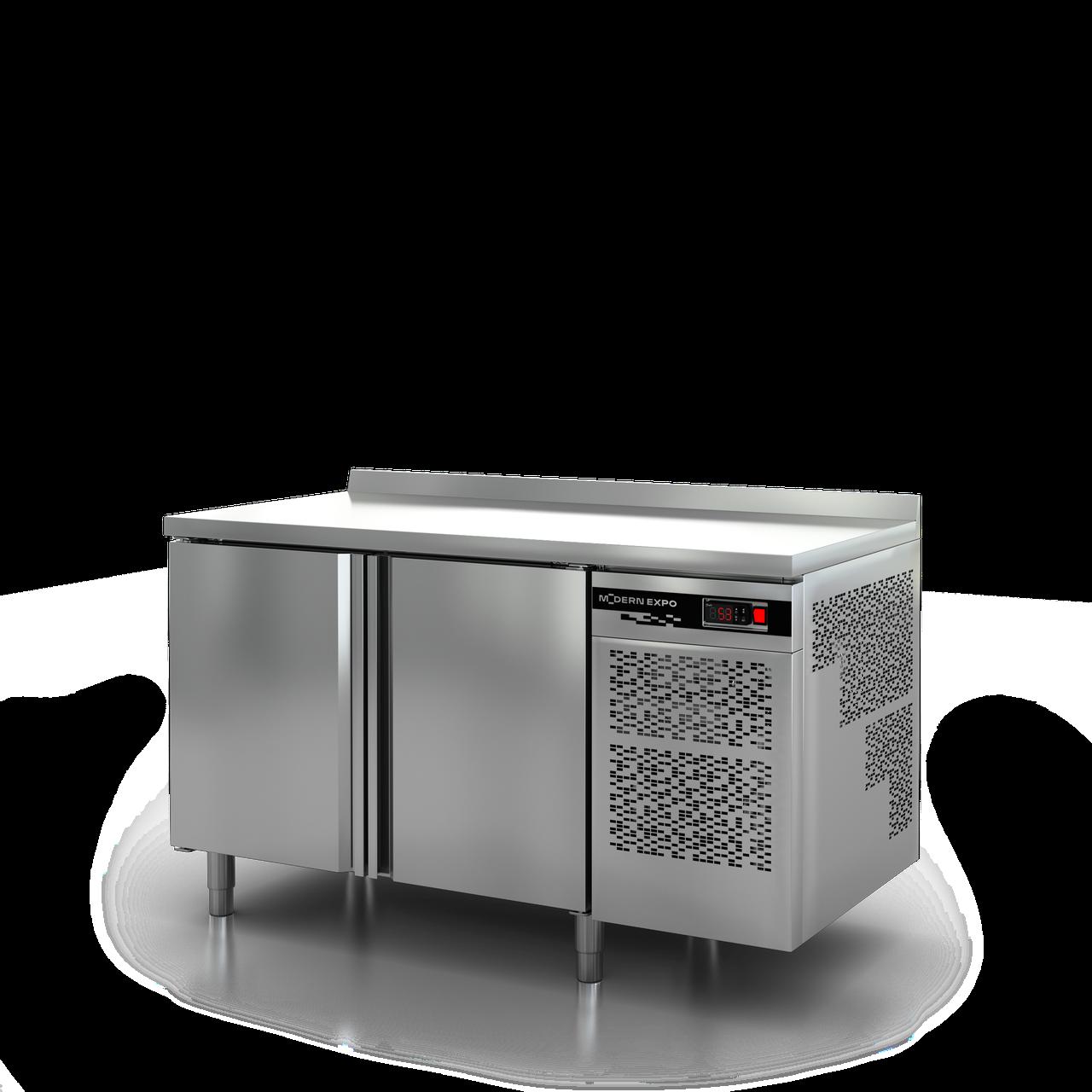 Холодильный стол 1400*700 с бортом Modern Expo NRABAB