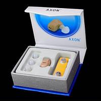 Прибор слуховой Axon K83, усиливает звук до 130дБ, чувствительность 50дБ, внутриушной, компактный, питание AG3