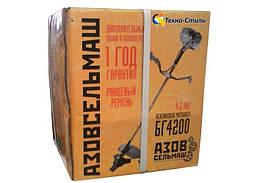 Бензокоса(Мотокоса) Азовсельмаш БГ-4200 Профи, фото 3