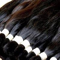 Срез натуральных европейских волос