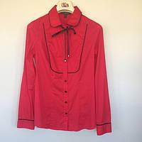Блуза-рубашка женская Nysense Франция малиновая 2604