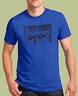 0008-TSRA-RB   Мужская футболка «URBAN GENERATION ». Синий RB
