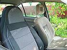 Чехлы на сиденья Ауди А6 С5 (Audi A6 C5) (универсальные, кожзам/автоткань, пилот), фото 6