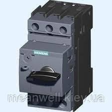 3RV2011-0KA15 Автомат защиты двигателя Siemens Сименс SIRIUS  (0,9-1,25 A) 1НО+1НЗ