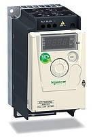 Преобразователь частоты Altivar 12  ATV12HU15M2 - 1,5 кВт, 1ф, Однофазные 220В (Schneider Electric)