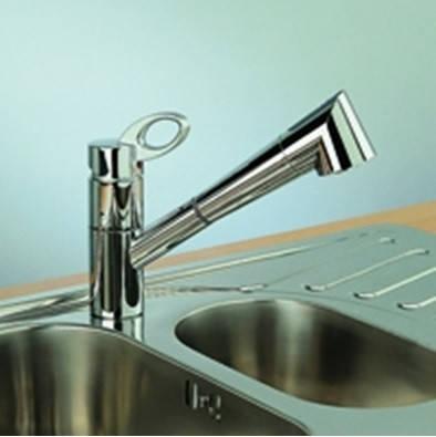 Кухонный смеситель Alveus Cleo PS (Хром) (с доставкой), фото 2