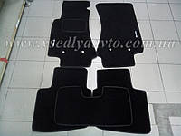 Ворсовые коврики в салон OPEL Omega B (Черные)