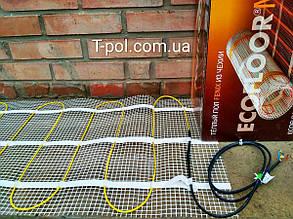 Теплый пол без стяжки In-therm mat 1300 вт / 6,4 м2, фото 2