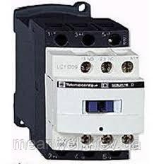 LC1D80B7 Контактор Schneider Electric telemecanique (телемеканик),  3Р, 80A, НО+НЗ, 24VАC