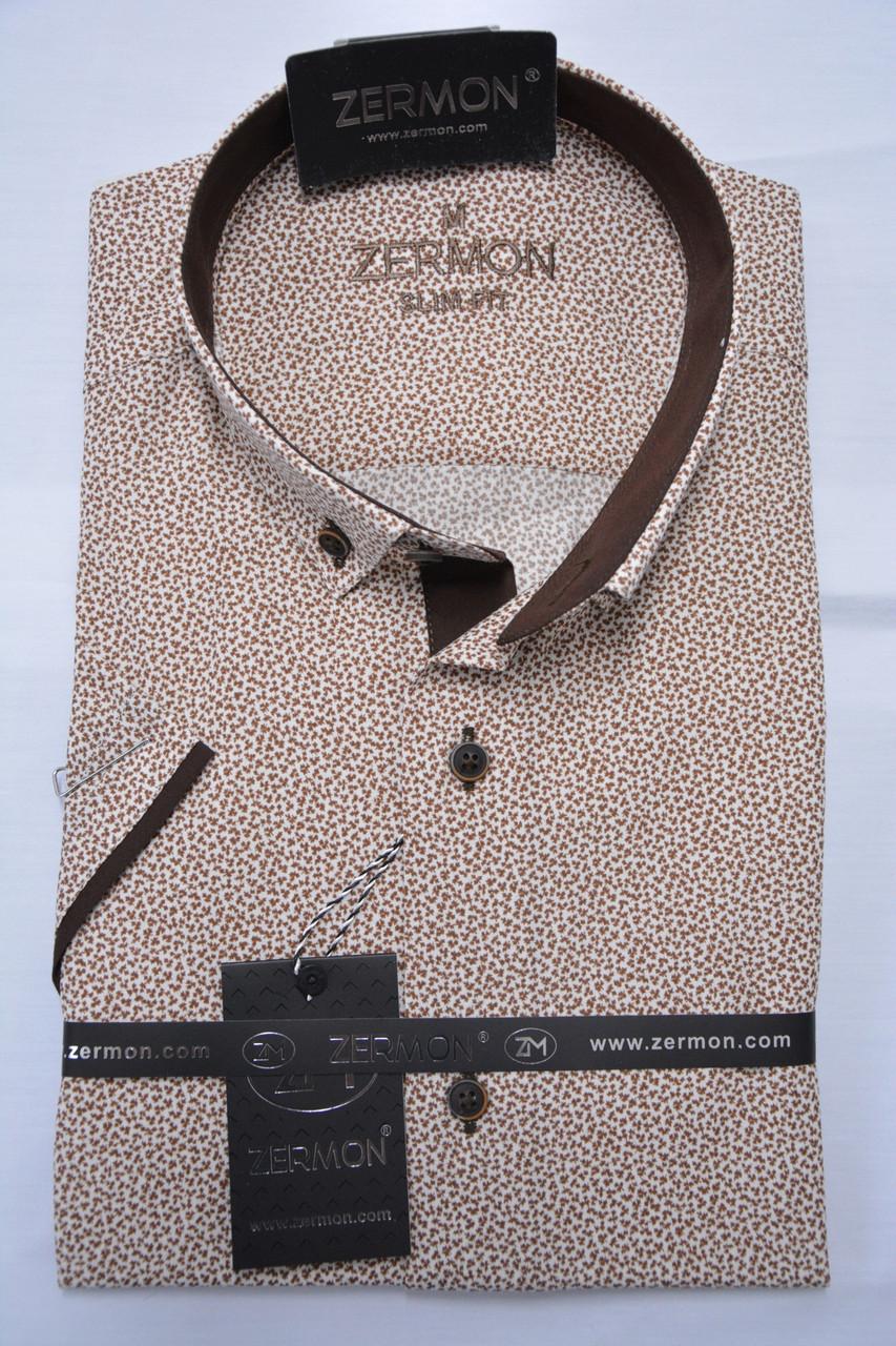Приталенная тенниска ZERMON (S.M) S