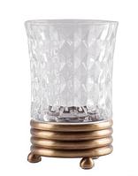 Стакан для зубных щеток в цвете бронзы 6-125