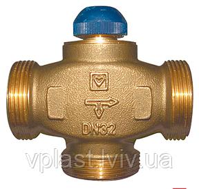 """Триходовий термостатичний розподільчий клапан Herz CALIS-TS-RD DN32 1 1/4""""(1776141)"""