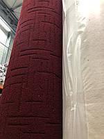 Ковролин бытовой красный 3м