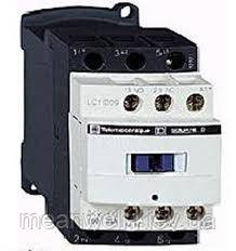 LC1D25M7 Контактор Schneider Electric telemecanique (телемеканик), 3Р,25A,НО+НЗ,220VАC