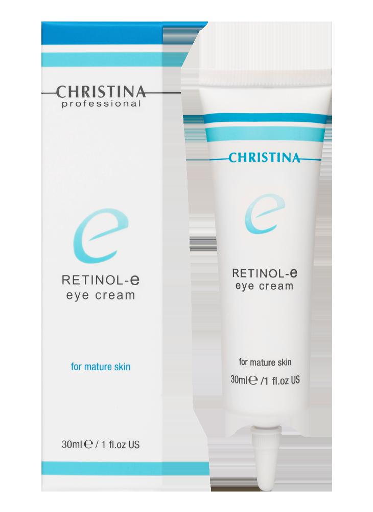 Крем с ретинолом и витаминами A, E, C для зрелой кожи вокруг глаз Retinol Eye Cream + Vitamins A, E, C, 30 мл