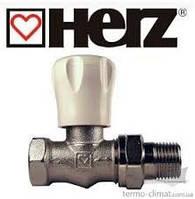 Вентиль ручной проходной HERZ GP 1\2 (для бокового подключения)