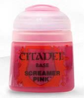Краска Цитадель Base: Screamer Pink (Citadel Base: Screamer Pink) настольная игра