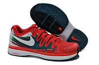 Кроссовки для тенниса Nike Vapor 9.5 красные