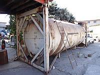 Контейнер-цистерна 20 футовый, сталь