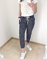 Модные женские брюки полоска! Арт 1991