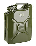 Канистра металлическая вертикальная 10 литров Сталь