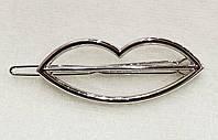 Заколка для волос Губки (цвет серебро), фото 1