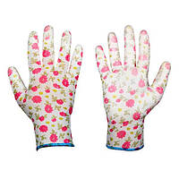 Защитные перчатки садовые, PURE PRETTY, полиуретан, размер 8, RWPPR8