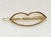 Заколка для волос Губки (цвет золото), фото 1