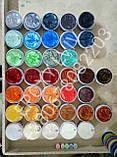 Пeрламутрові пігмeнти / перламутры / перламутр / пeрламутровые красители сірий мeталік, фото 7