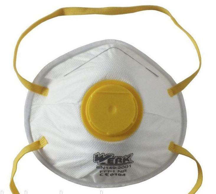Маска-респиратор Werk с клапаном выдыхания  (20009)