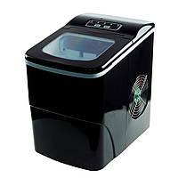 🔝 Бытовой льдогенератор для дома - компактный генератор льда (машина для льда)   Черный   🎁%🚚