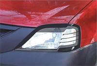 Защита фар на Dacia Logan (2005-г.в.Spirit)