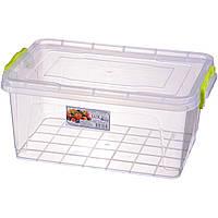 Контейнер универсальный из пищевого пластика для хранения продуктов 5,0 л 310Х205Х138 мм Ал-Пластик OST-1241